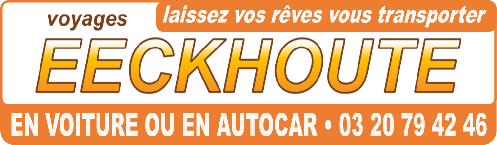 Logo Voyages Eeckhoute 03 20 79 42 46